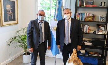 Alberto Fernández recibió al intendente Julio Zamora en Olivos | Coronavirus en argentina