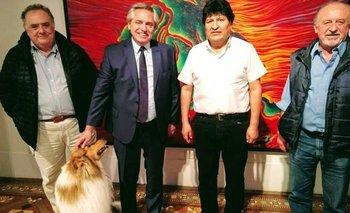 Alberto y Evo cenaron en Olivos tras la victoria en Bolivia | Elecciones bolivia