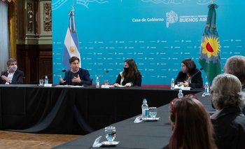 Axel Kicillof presentó la Escuela Sindical de Género   Género