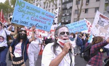 Enfermeros protestarán con acampe frente a la sede del gobierno porteño | Ciudad