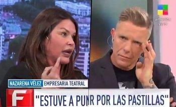 El crudo testimonio de Nazarena Vélez que hizo llorar a Fantino | Alejandro fantino