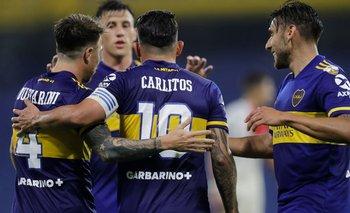Ganó, gustó y goleó: Boca, firme a los octavos de Libertadores | Copa libertadores