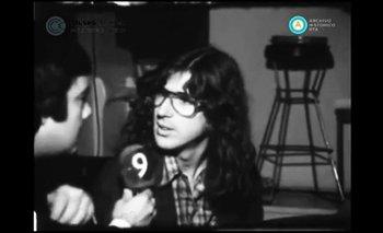 La histórica entrevista a Charly García en la televisión   Charly garcía