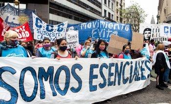 Trabajadores de comedores piden reconocimiento de derechos | Movimientos sociales