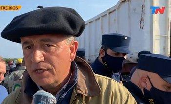 "Video| Etchevehere violó la perimetral: ""Que venga el Presidente"" | Disputa de tierras"