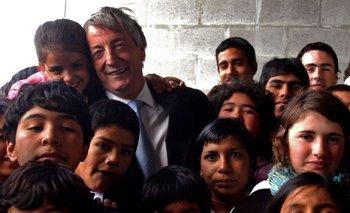 Movimientos sociales hacen una vigilia por Néstor Kirchner | Homenaje a néstor kirchner