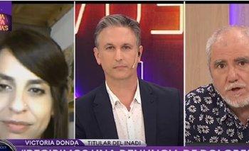 El fuerte cruce de Victoria Donda con Osvaldo Bazán en TN | Victoria donda