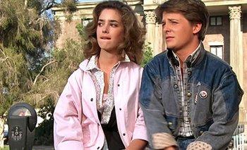Volver al Futuro: así luce Cladia Wells, la novia de Marty McFly   Volver al futuro