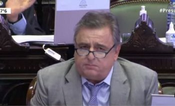 Negri se ausentó en la sesión de Diputados para ir a TN | Mario negri