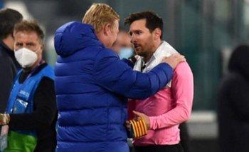"""Koeman, sobre la relación entre Messi y Griezmann: """"Entiendo que esté enojado""""   Fútbol"""