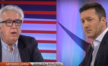 Artemio López le hizo pasar un papelón a un diputado macrista en TN  | Artemio lopez