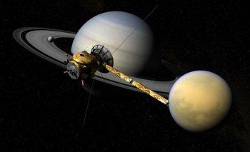 ¿La NASA descubrió una señal de vida en Saturno? | Espacio exterior