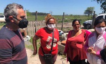 Guernica: continúa el operativo para relocalizar a las familias | Toma de tierras