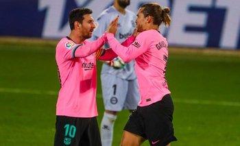 Griezmann habló por primera vez de Messi y reconoció diferencias   Fútbol