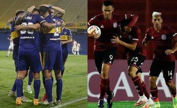 Así forman Boca y Lanús para el debut en la Copa de la Liga | Fútbol argentino