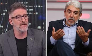 """Aníbal cruzó a Novaresio por la seguridad: """"No tenés la menor idea""""   Televisión"""