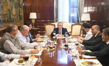 El Presidente se reunió con autoridades de la CGT | Casa rosada