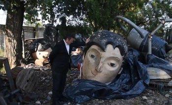 """Belgrano decapitado"": los destrozos del macrismo a Tecnópolis | Tecnópolis"