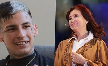 "El sentido mensaje de L-Gante a Cristina Kirchner: ""Grande""   L-gante"