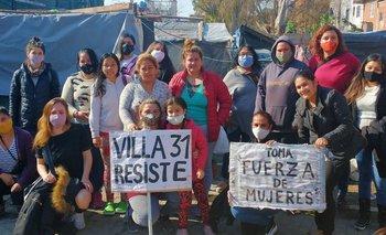 Mujeres desalojadas de la villa 31 denuncian amenazas del gobierno porteño   Ciudad