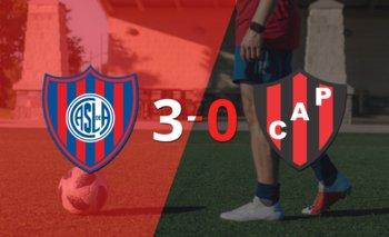 Goleada 3 a 0 de San Lorenzo a un Patronato sin reacción   Argentina - liga profesional 2021