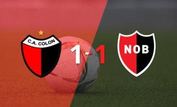 Colón y Newell`s se repartieron los puntos en un 1 a 1 | Argentina - liga profesional 2021