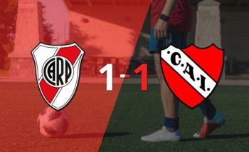 River Plate e Independiente se repartieron los puntos en un 1 a 1 | Argentina - liga profesional 2021