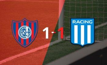 San Lorenzo y Racing Club se repartieron los puntos en un 1 a 1   Argentina - liga profesional 2021
