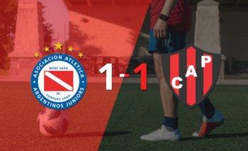 Argentinos Juniors y Patronato se reparten los puntos y empatan 1-1   Argentina - liga profesional 2021