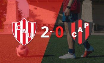 Mauro Luna Diale marca un doblete en la victoria 2-0 de Unión ante Patronato   Argentina - liga profesional 2021