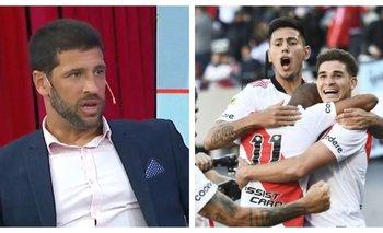 Sebastián Domínguez ninguneó el triunfo de River ante Boca | Televisión