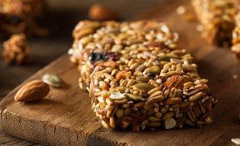 Cómo hacer barras de cereal caseras y sanas   Recetas de cocina