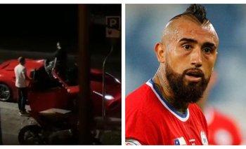 Video: filmaron a Arturo Vidal manejando su Ferrari borracho | Fútbol