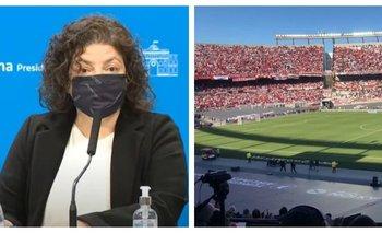 Carla Vizzotti confirmó hasta cuándo se extenderá el 50% de aforo | Fútbol argentino