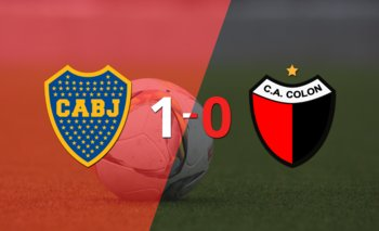 Con lo justo, Boca Juniors venció a Colón 1 a 0 en la Bombonera | Argentina - liga profesional 2021