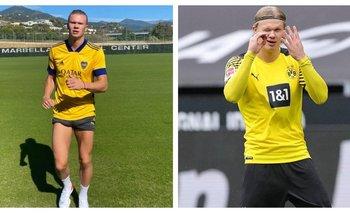 ¿Y si te llama Román? El nuevo guiño de Erling Haaland para Boca   Fútbol