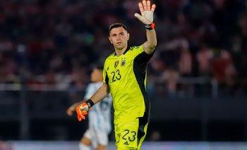 Eliminatorias 2022: Emiliano Martínez se lució y fue figura ante Paraguay | Selección argentina