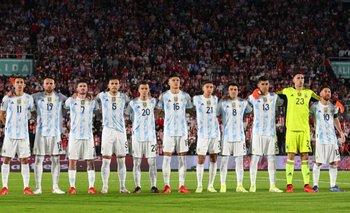 La Selección Argentina alcanzó los 23 partidos seguidos sin derrotas  | Selección argentina