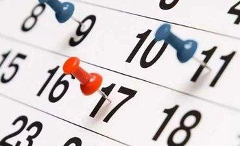 Cuándo es el próximo feriado en Argentina   Feriados