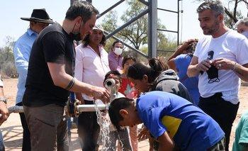 Salta: inauguran acceso al agua potable para la comunidad Wichi   Secretaria de ambiente y desarrollo sustentable