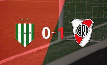 River Plate derrotó con lo justo a Banfield en su casa   Argentina - liga profesional 2021
