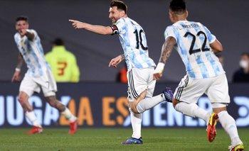Con baile, Argentina goleó a Uruguay en el Monumental | Eliminatorias 2022