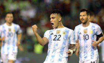 El desconsolado llanto de Lautaro Martínez tras el gol ante Uruguay | Eliminatorias 2022