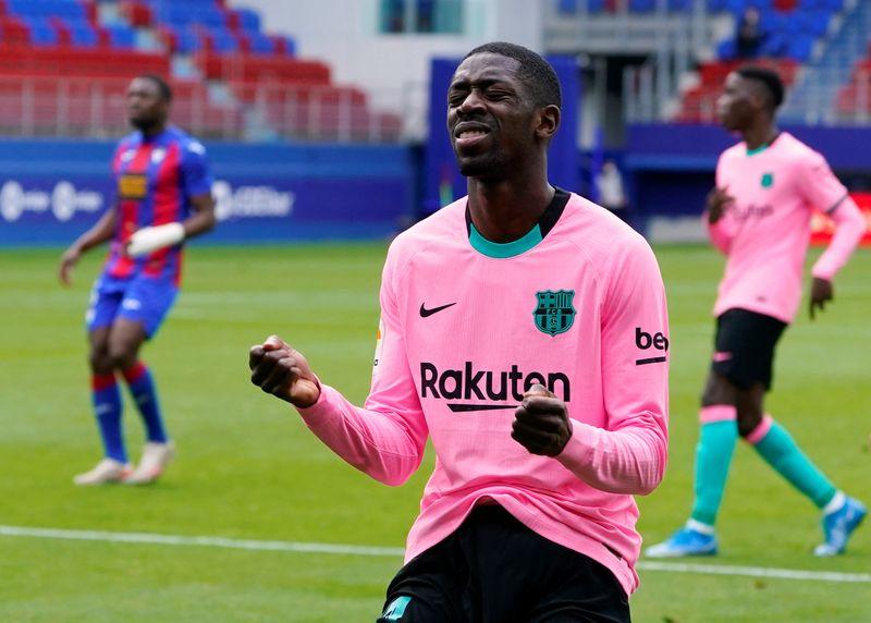 Agüero y Dembélé regresan a los entrenamientos de un Barça necesitado de atacantes | Fútbol