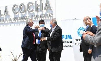 Tucumán: Alberto Fernández inauguró una planta de producción porcina | Actividad económica