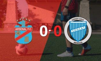 Arsenal y Godoy Cruz terminaron sin goles | Argentina - liga profesional 2021