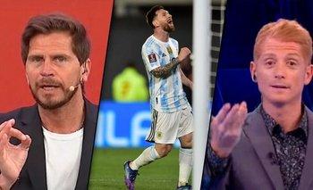 Vignolo y Liberman, destrozados por sus opiniones sobre la Selección | Televisión