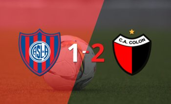 Colón gana de visitante 2-1 a San Lorenzo | Argentina - liga profesional 2021