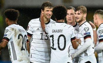 Alemania es el primer clasificado al Mundial de Qatar 2022 | Mundial qatar 2022