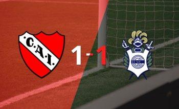 Independiente y Gimnasia se repartieron los puntos en un 1 a 1 | Argentina - liga profesional 2021